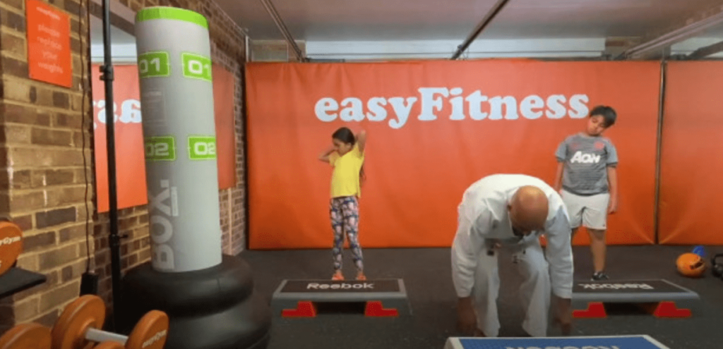 Keep fit during lockdown with Karate kids and easyGym
